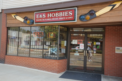 E&S Hobbies Store Front